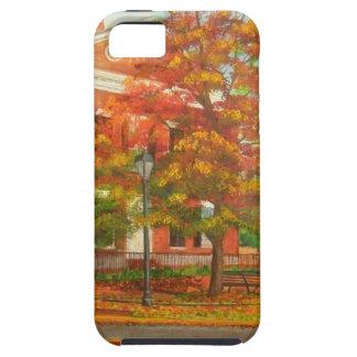 Dahlonegaの金ゴールド博物館の秋色 iPhone 5 タフケース