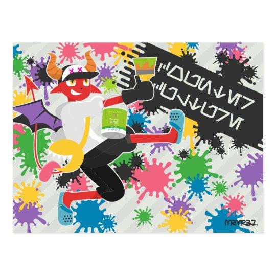 Daimon splash ポストカード