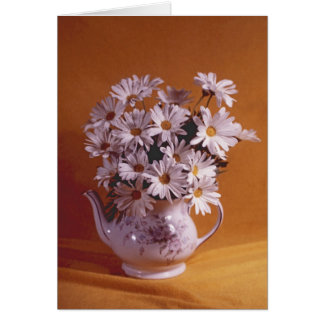 Daisies In Teapot All Occasion Card カード