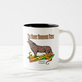 Dakoya南ラシュモア山のコヨーテ ツートーンマグカップ