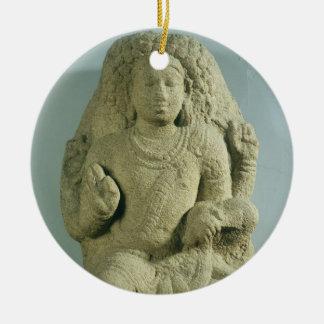 Dakshinamurti、タミル・ナードゥ州のPallavaの王朝(granit セラミックオーナメント