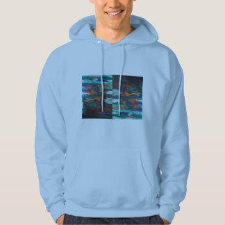 DALによるVAカリフォルニア青い人のフード付きスウェットシャツ パーカ