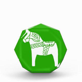 Dalaの緑の馬 表彰盾