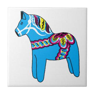 Dalaの青い馬 タイル