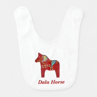 Dalaの馬のベビー用ビブ ベビービブ