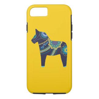 Dalaの黄色い馬 iPhone 8/7ケース