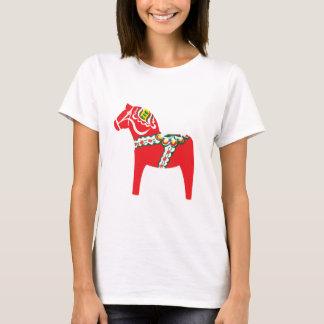 Dalahäst | Dalaの馬 Tシャツ