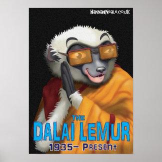 DalaiのLemur ポスター