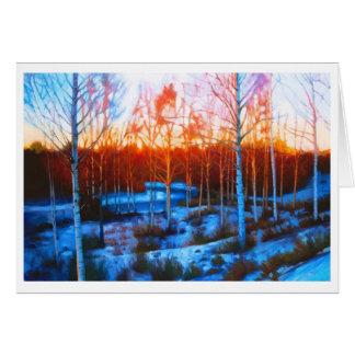 Dalarnaの凍結する流れ カード