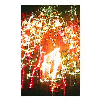 Daleウィルヘルム著明るいライト抽象芸術 便箋