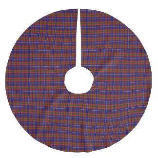 Dalmahoyのスコットランドのタータンチェックの木Skir ブラッシュドポリエステルツリースカート