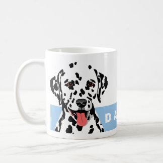 Dalmatianデザイン コーヒーマグカップ