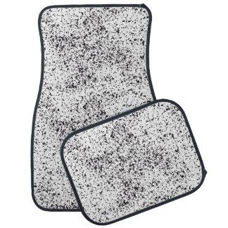 Dalmatianプリントのカーマット カーマット