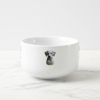 Dalmatian小犬の写真 スープマグ