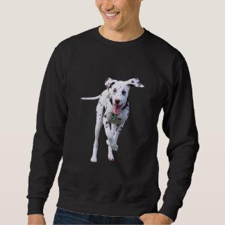 Dalmatian小犬メンズスエットシャツ、ギフトのアイディア スウェットシャツ