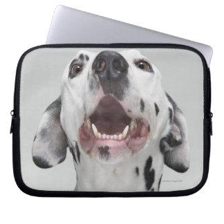 Dalmatian犬の閉めて下さい ラップトップスリーブ