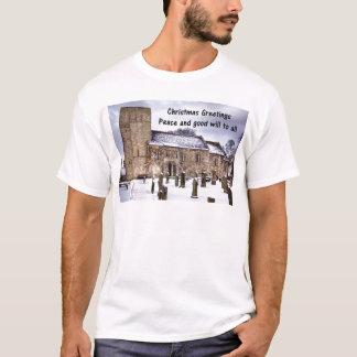 DalmenyのSt Cuthbertの教会 Tシャツ