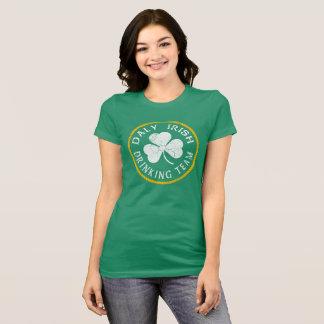 Dalyのアイルランドの飲むチーム Tシャツ