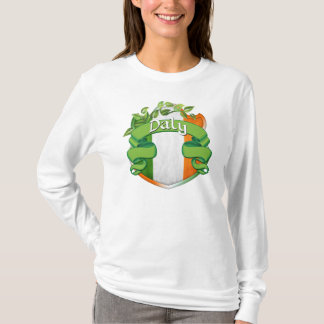 Dalyのアイルランド人の盾 Tシャツ