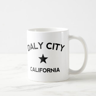 Daly Cityカリフォルニア コーヒーマグカップ