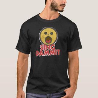 Dammit歌って下さい Tシャツ