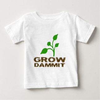 Dammit育てて下さい ベビーTシャツ