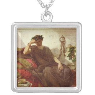 Damocles 1866年 シルバープレートネックレス