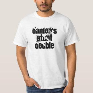 Damonの発育阻害の倍 Tシャツ