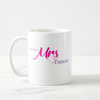 Damon未来の夫人 コーヒーマグカップ