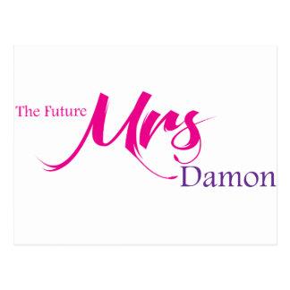 Damon未来の夫人 ポストカード