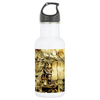 DampflokのロコモーティブのヴィンテージF001 ウォーターボトル