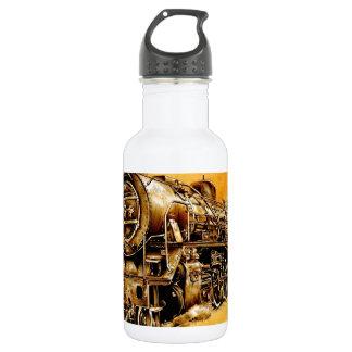 DampflokのロコモーティブのヴィンテージF046 ウォーターボトル