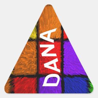 DANA 三角形シール