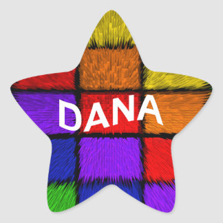DANA 星シール