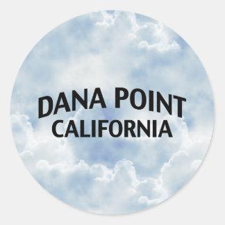 Dana Pointカリフォルニア 丸型シール