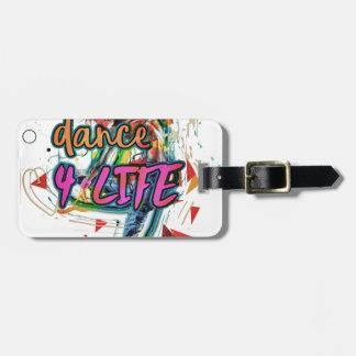 Dance4Lifeエネルギー ラゲッジタグ