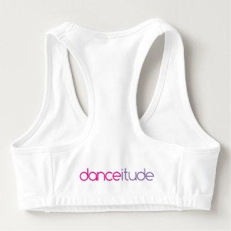 Danceitudeはブラを遊ばします スポーツブラ