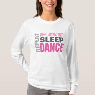 dancerepeat tシャツ