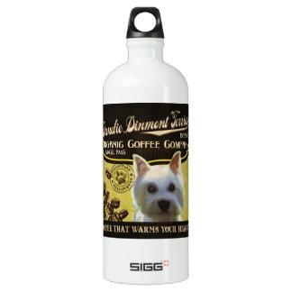 Dandie Dinmontテリアのブランド-オーガニックなコーヒーComp ウォーターボトル