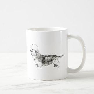 Dandie Dinmontテリア コーヒーマグカップ