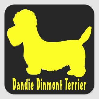 Dandie Dinmontテリア スクエアシール