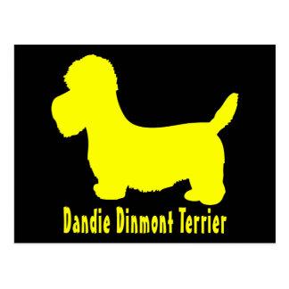 Dandie Dinmontテリア ポストカード