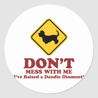 Dandie Dinmontテリア ラウンドシール