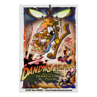 dandy & Company: 氏のFuzzy調査 ポスター