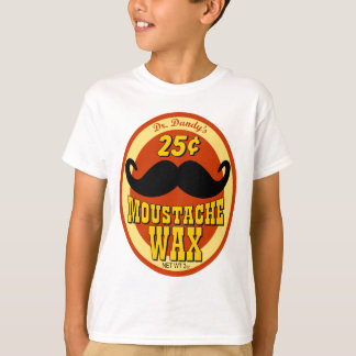 dandy's Moustache Wax先生の Tシャツ