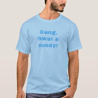 Dangのhwat sundy! tシャツ