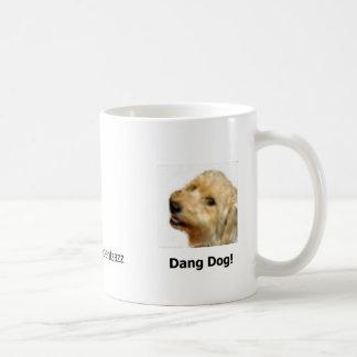 Dang犬のコーヒー(残っている) コーヒーマグカップ