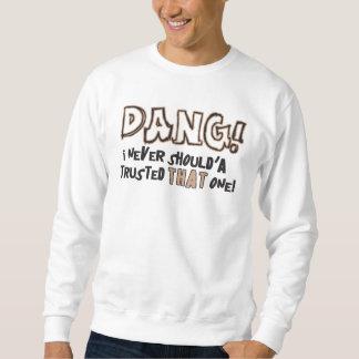 Dang! 基本的なスエットシャツ スウェットシャツ