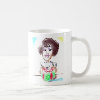Daniaの風刺漫画のマグ コーヒーマグカップ