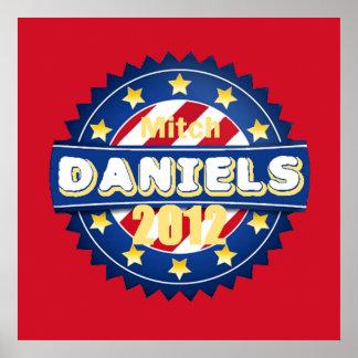Daniels 2012年のポスタープリント ポスター